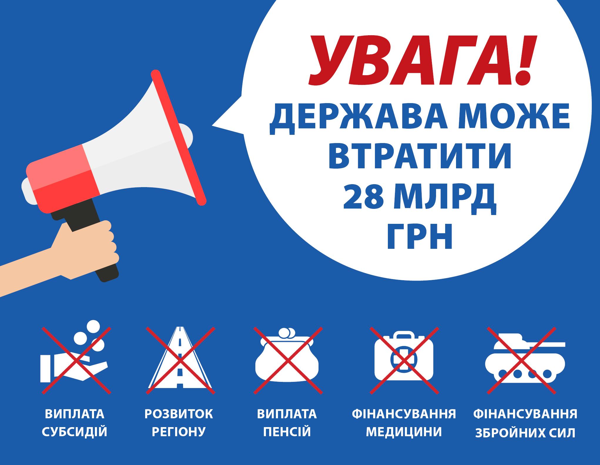Через бездіяльність Державної служби геології та надр Україна може втратити 3 млрд куб. м газу на рік та більше 28 млрд грн бюджетних коштів