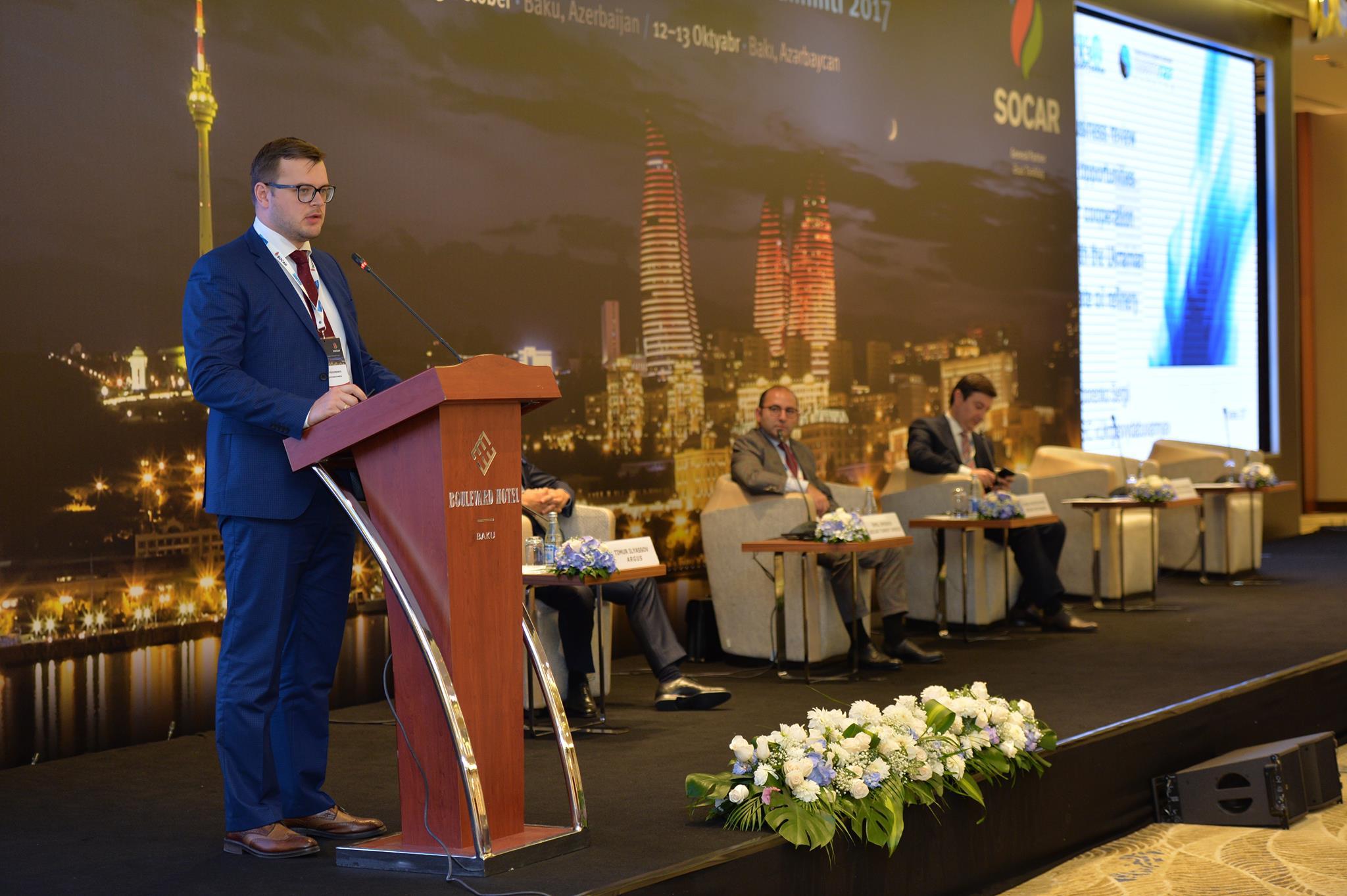 Укргазвидобування взяло участь у міжнародному саміті в Азербайджані