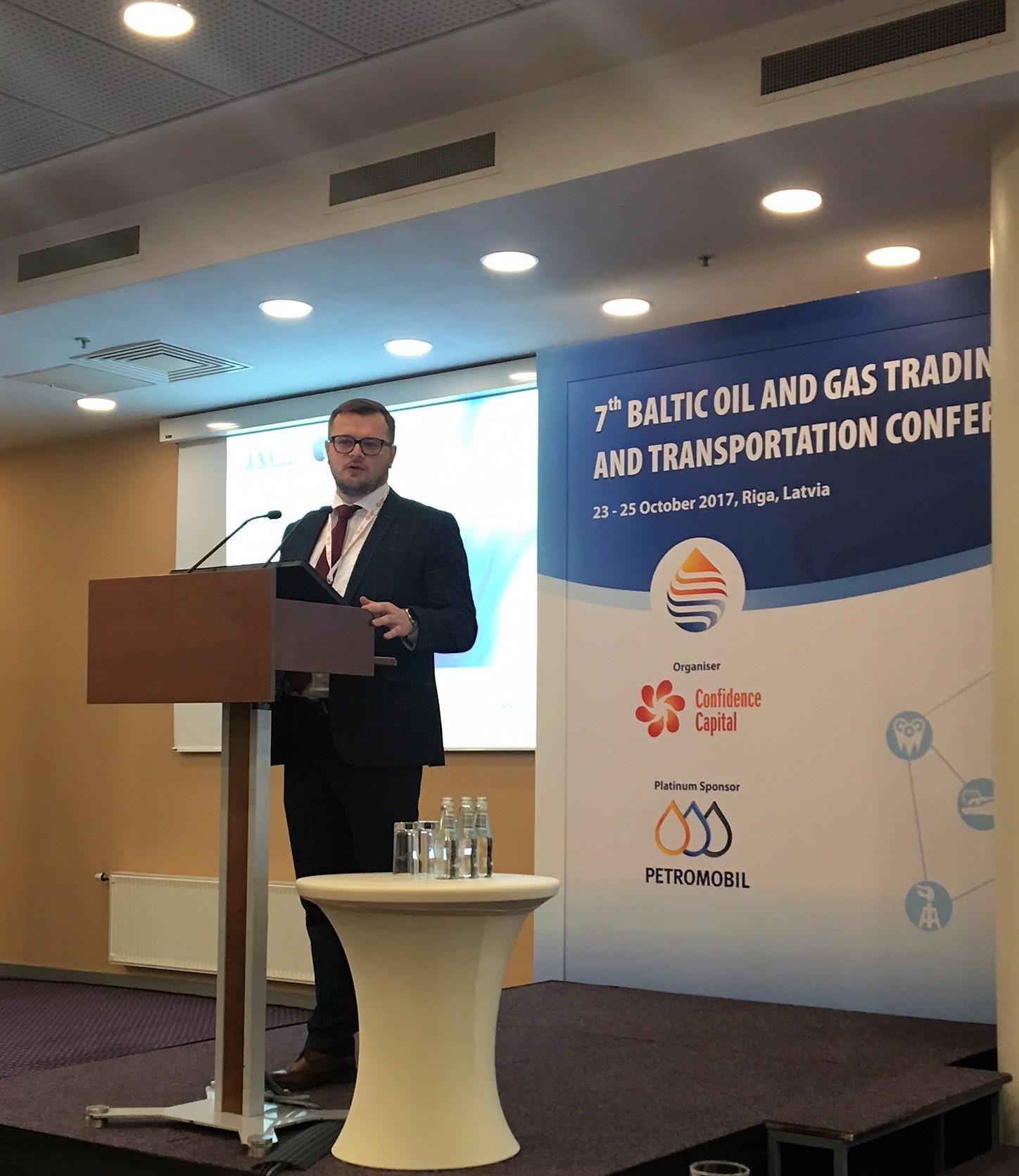 Укргазвидобування взяло участь у Балтійській нафтогазовій торгово-транспортній конференції