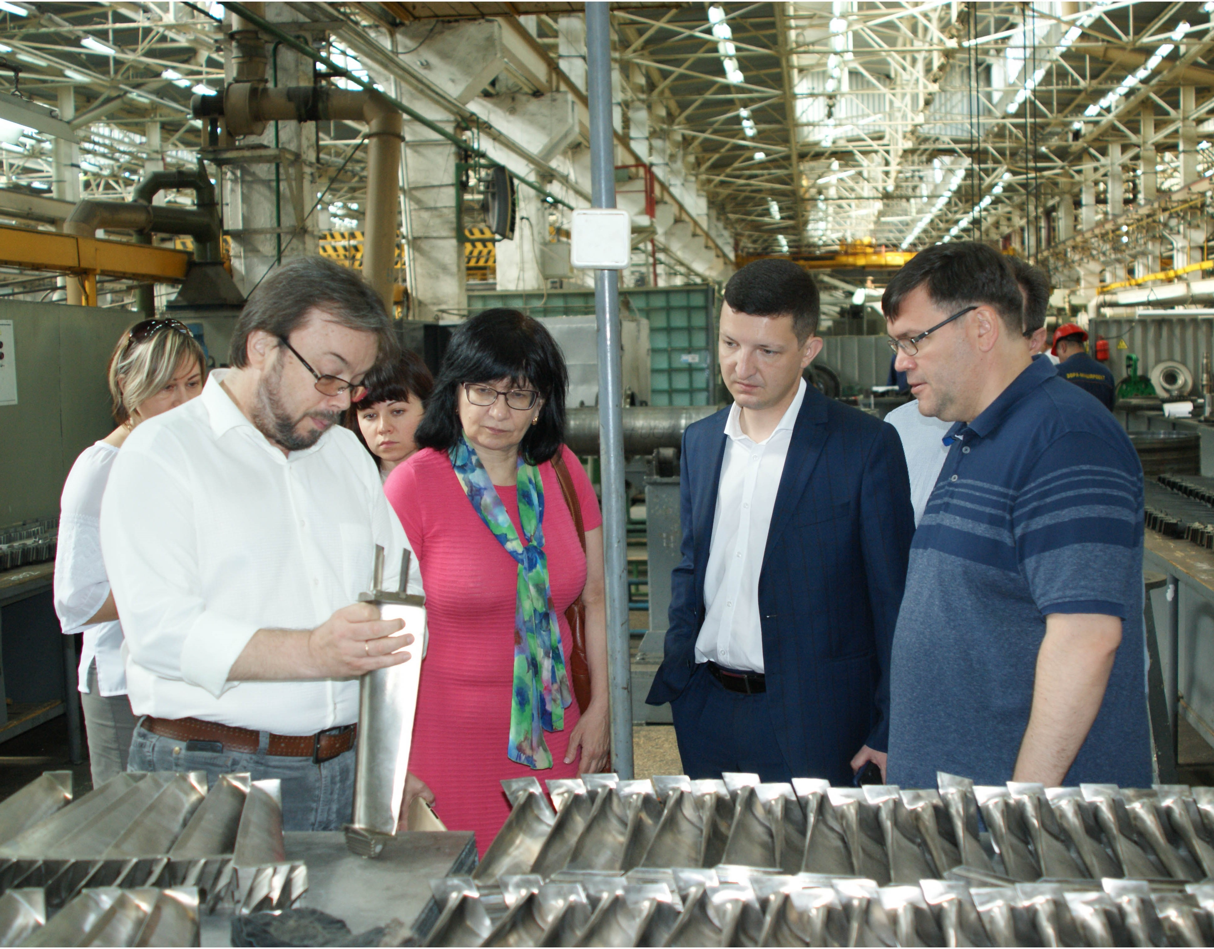 JSC UkrGasVydobuvannya visited State Enterprise 'Zorya-Mashproekt', under the program aimed at upgrading production facilitie