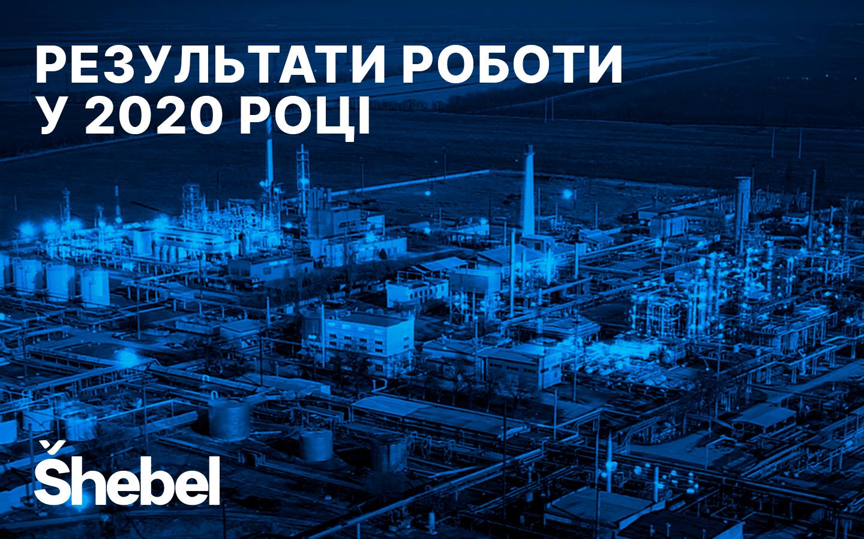Shebel: результати роботи у 2020 році