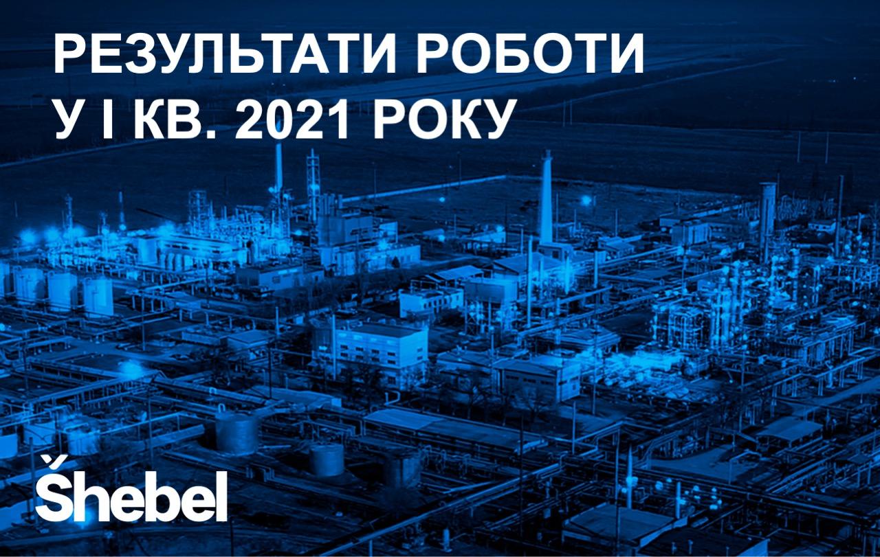 Shebel: результати роботи у І кв. 2021 року