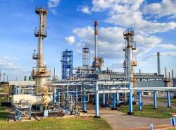 Repairs at Shebelynka Gas Processing Plant will not affect shipment of the products