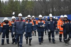 Management of the Public Service of Geology and Subsoil of Ukraine and Poltava region visited the facility of Ukrgasvydobuvannya